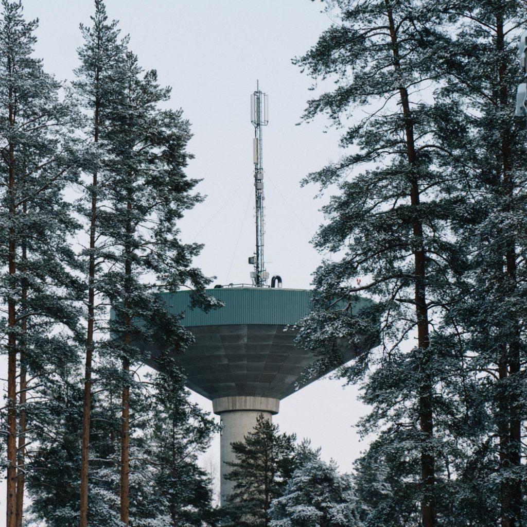 Water tower of Juankoski